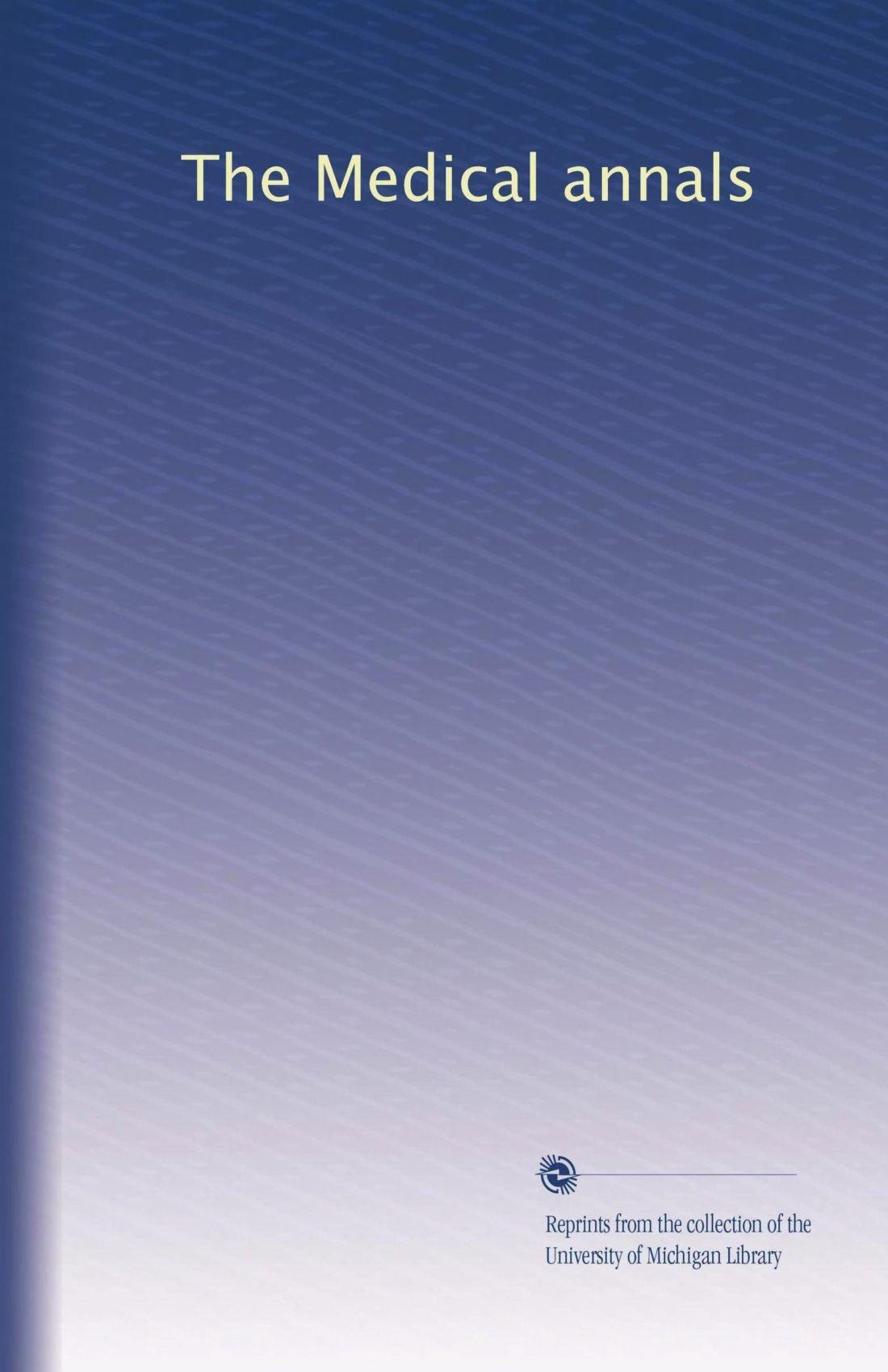The Medical annals (Volume 3) PDF ePub fb2 book