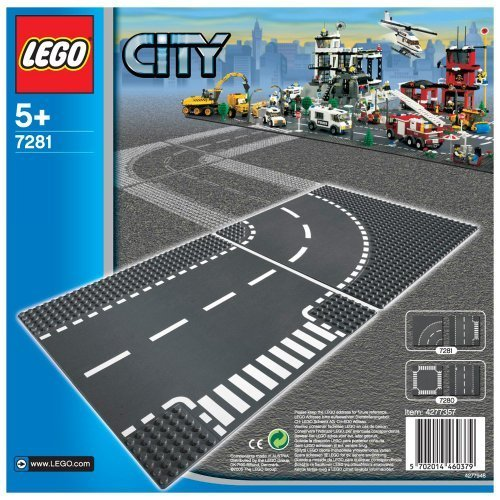 LEGO?? City T-Junction and Curve - 7281. by LEGO