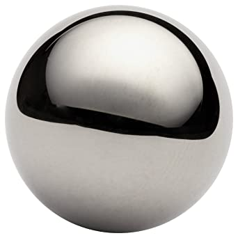 Precision Tolerance Grade G100 Mirror-Like Finish 1//8 Diameter Pack of 25 440C Stainless Steel Sphere 0.0001 Sphericity A276// A756//AMS 5630