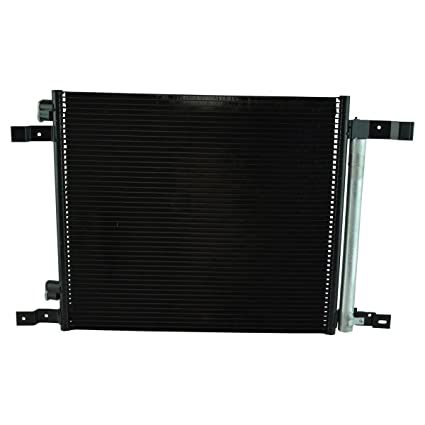 AC Condenser A//C Air Conditioning w// Receiver Drier for Cadillac SRX Truck SUV