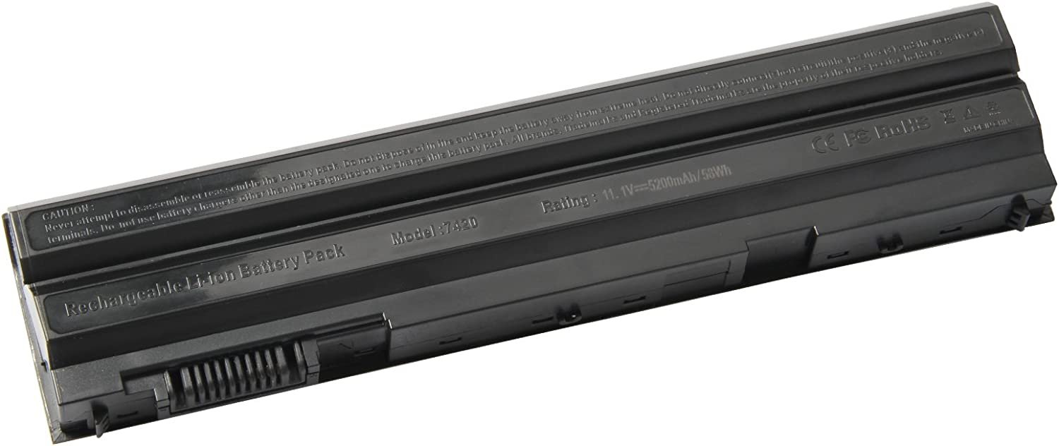 ARyee Replacement E6420 Battery Laptop Battery for Dell Latitude E6420 E6430 E5420 E5430 E5520 E5530 E6530,Inspiron 14R 5420 15R 5520 7520 17R 5720 7720 P/N: 8858X M5Y0X T54F3 4YRJH 0T54FJ