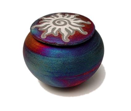 Amazon Raku Dream Catcher Jar With Sun Design On Lid Wishing Impressive Dream Catcher Jar
