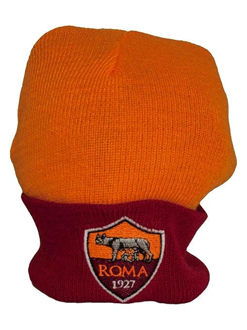 A.S. ROMA Berretto Cappello Acrilico Prodotto Ufficiale 100%  Amazon ... 3a068918d2a8
