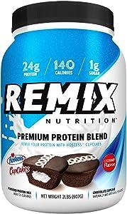 Remix Nutrition™ Premium Protein Blend, Hostess™ Cupcakes, 2 Lbs.