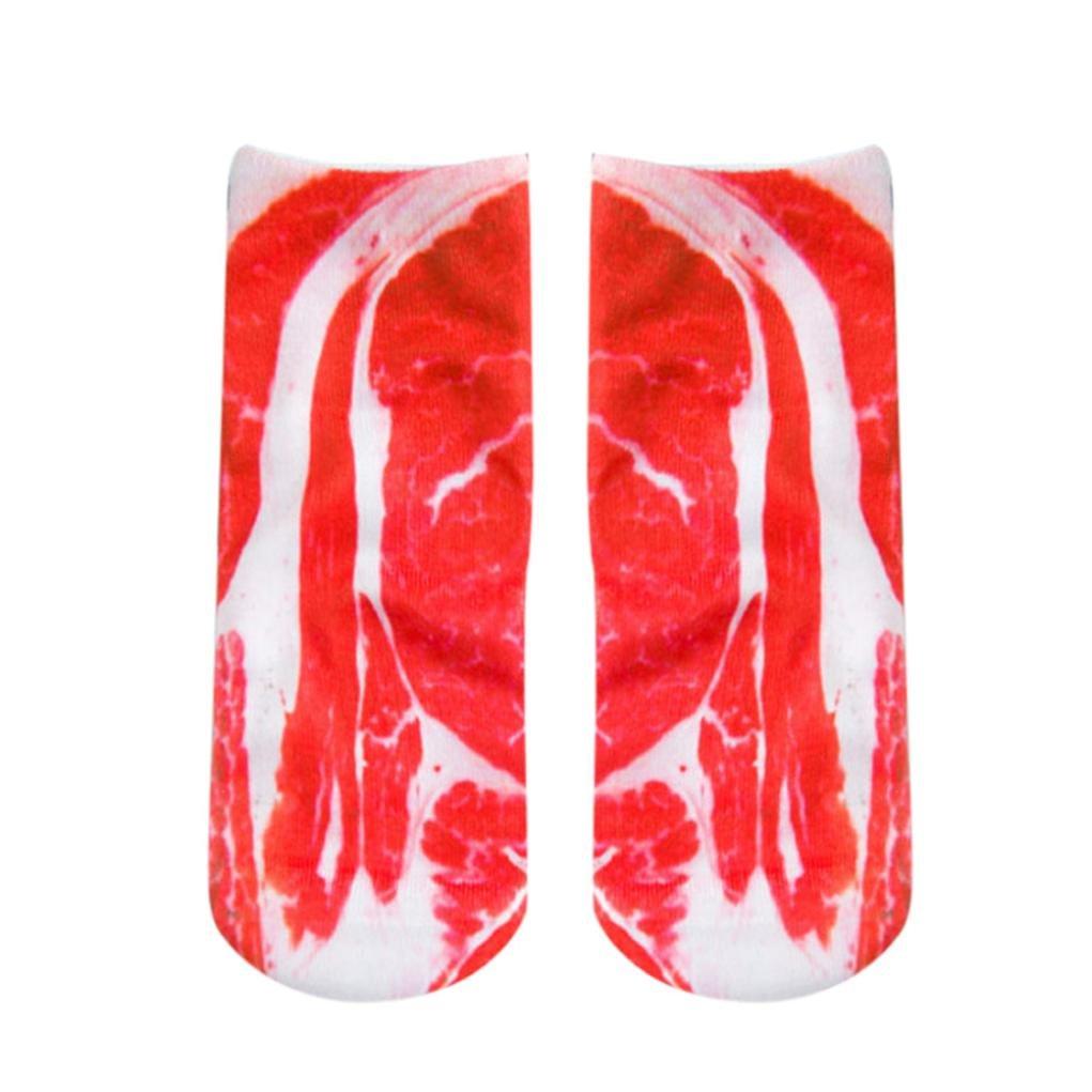 Longra☀☀ Creación de calcetines de impresión, Funny Crazy Novedad Low Cut Cute Athletic Socks: Amazon.es: Deportes y aire libre
