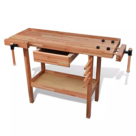 Fabulous Weilan Deal Workbench Wooden Carpenters Bench Workbench Gmtry Best Dining Table And Chair Ideas Images Gmtryco
