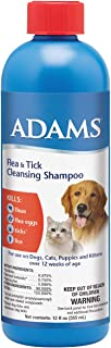 product image for Adams Flea and Tick Cleansing Shampoo, 12-Ounce, Clear