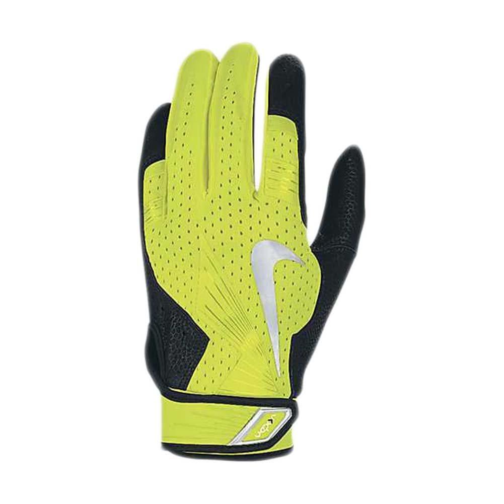 NikeメンズVapor Elite Pro Batting Gloves B00KY7A78O XL|ボルト/ブラック ボルト/ブラック XL