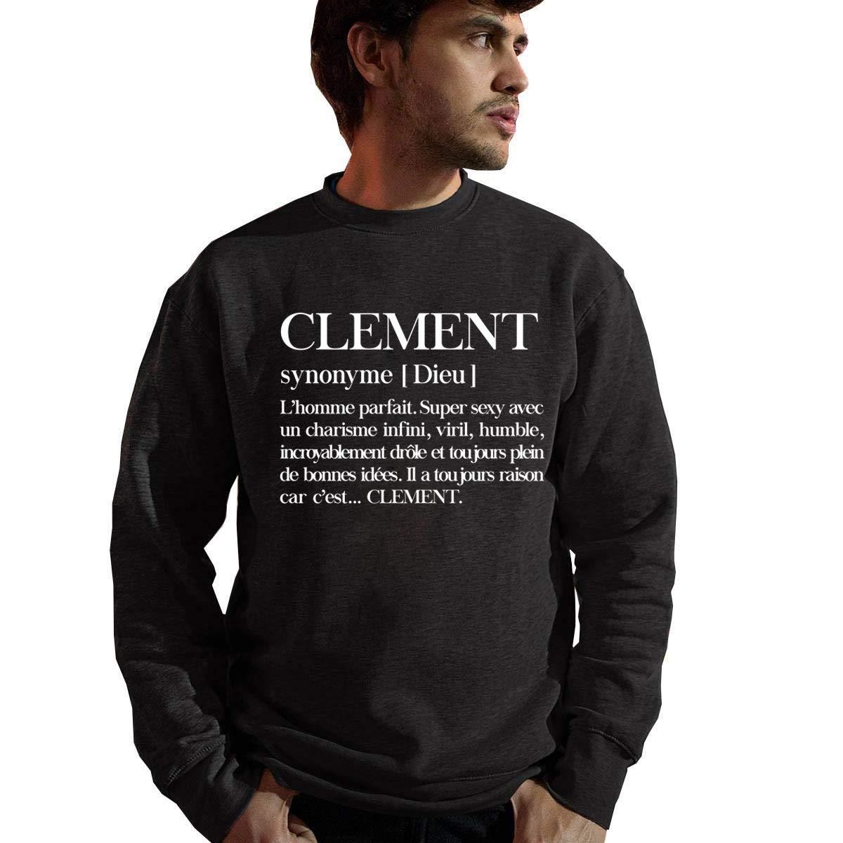 D/éfinition Objective Sweat Homme Personnalis/é Pr/énom Humour Clement