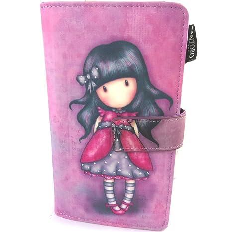 Cartera Gorjuss Santorode color rosa (l)- 18x10x4 ...