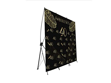 Photocall X-Banner Extensible 100% Fabulosos 40   240x200cm ...