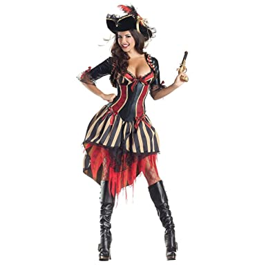 PIRATE BODY SHAPER 4-6  sc 1 st  Amazon.com & Amazon.com: Deluxe Pirate Costume Pirate Body Shaper Costume: Clothing