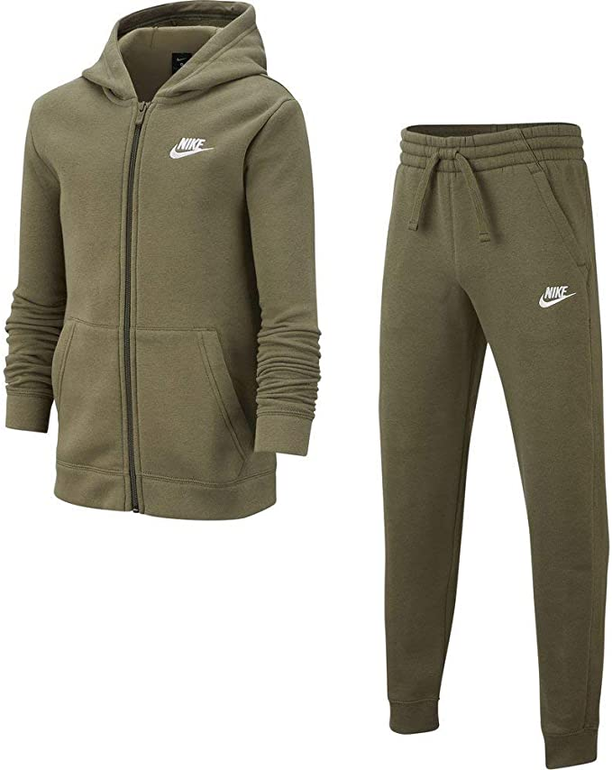 Nike Conjunto Sportswear Core BF TRK Verde S EU (128-137 cm ...