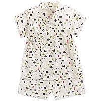 Japanese Kimono Jinbei Kids Boys Girls Shirt + Short Outfits Clothes 2Pcs/Set for 3M-4T.