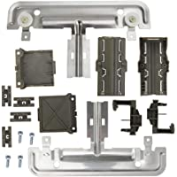 2-Pack W10195840 Dishwasher Rack Adjuster Replacement for Kenmore//Sears 665.13973K015 Dishwasher Compatible with WPW10195840 Top Rack Adjuster