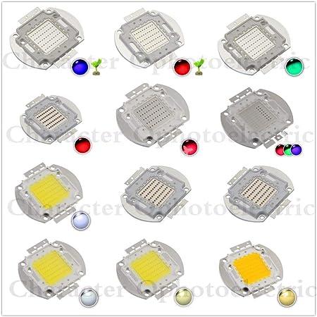 Jammas 10W LED chip Integrated High Power 10w LED RGB White Warm White red Green Blue Yellow Full spec4000k 10000k 20000k 25000k 30000k Emitting Color: IR 940nm