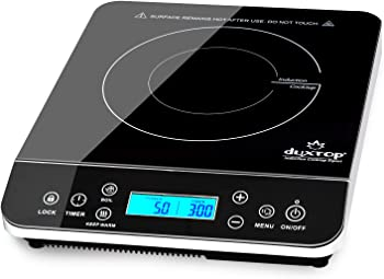 Duxtop LCD Portable Induction Stove Top Countertop Burner 9600LS