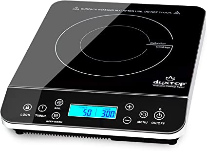 Duxtop-silver-best-portable-induction-cooktop