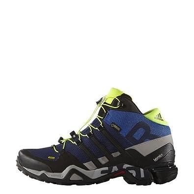Adidas uomini terrex veloce r gtx outdoor fitness scarpe blu scuro.
