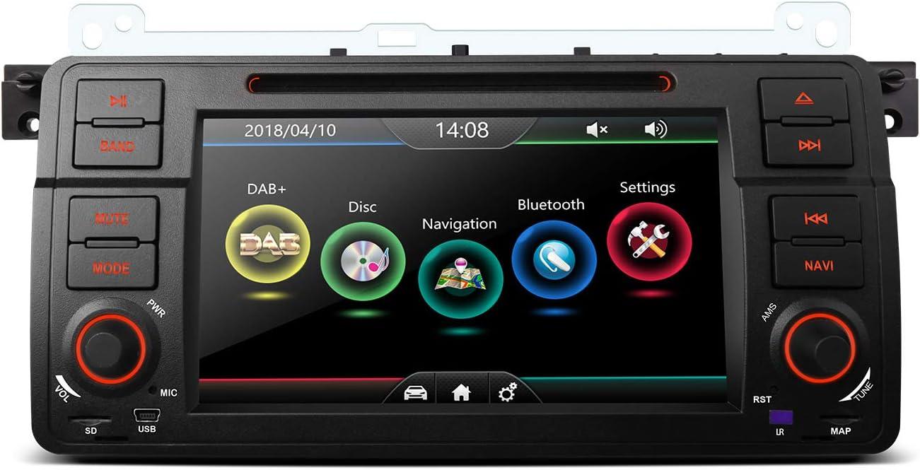 Xtrons 7 Hd Touch Screen Autoradio Mit Windows Ce Dvd Player Autostereo Unterstützt Gps Navigation Bluetooth5 0 Auto Musik Streaming Dab FÜr Bmw E46 Rover 75 Mg Zt Navigation