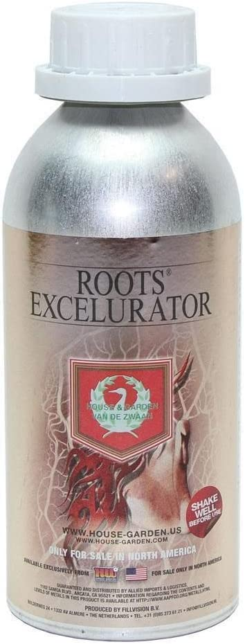 Zukool House & Garden Roots Excelurator SILVER 500ml - bigger roots stimulant enhancer
