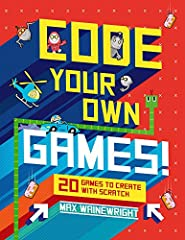 Become a super-coder and create your very own computer games using Scratch—a free software developed by MIT. Calling all creative young gamers! With its easy-to-follow, illustrated step-by-step instructions, this book will teach you ke...