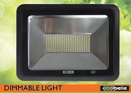 Ecobelle® 1 x Foco Proyector LED 150W 15000 Lúmenes (Igual a 900W ...