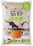 アイリスオーヤマ 上から猫トイレ用砂 猫砂 5L UNS-5L