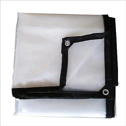 LIXIONG Lona de protección Transparente Toldos Paño de cobertizo de plástico Espesar proteccion solar a prueba