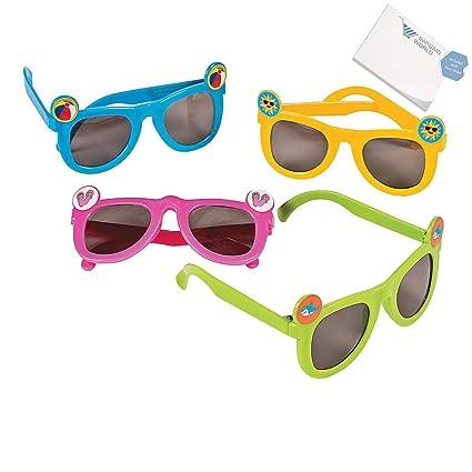 3165fcb8067 Amazon.com  Bargain World Kids  Summer Fun Icon Sunglasses (With ...