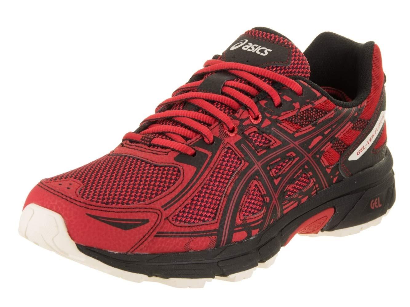 ASICS Mens Gel-Venture 6 Running Shoe, Lychee/Black/Whisper White, 13 by ASICS