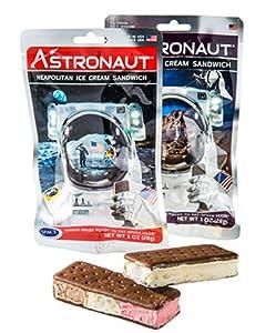 Astronaut Ice Cream Sandwich Variety 2 Pack - Vanilla & Neopolitan