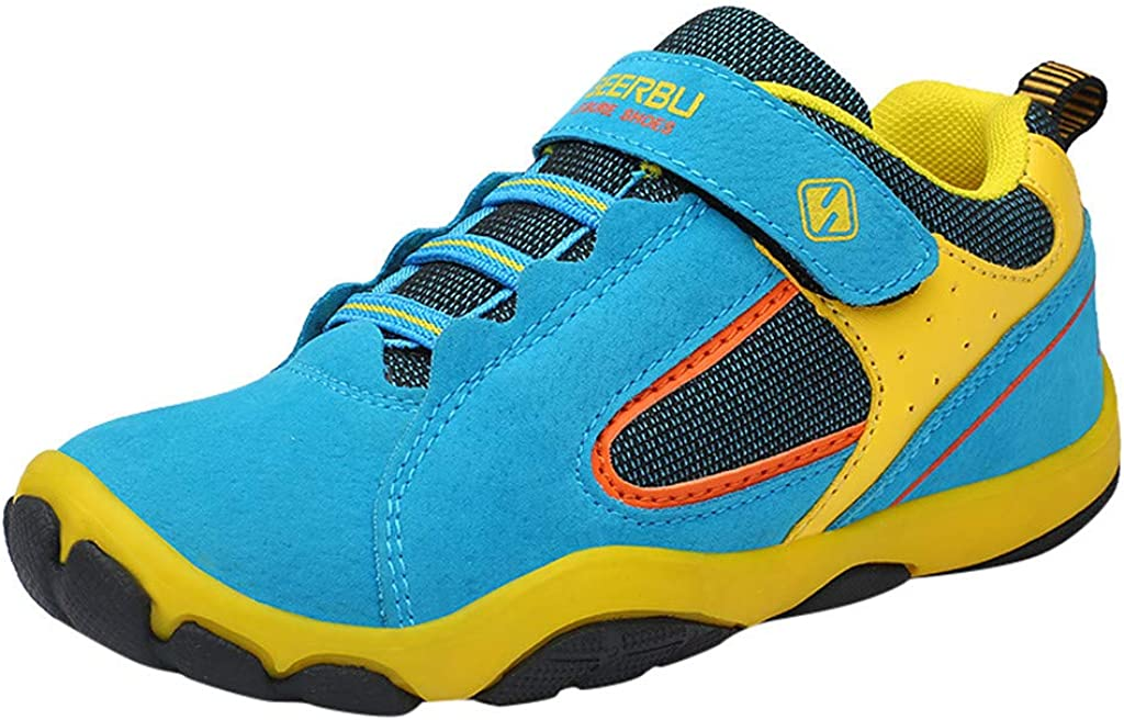 TIANRUN Boys Lightweight Sneakers Girls Strap Athletic Running Shoes Kids Sneakers Outdoor Toddler//Little Kid//Big Kid