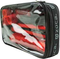 ZUCA Utility Pouches: Nylon Organizers with Clear Tops, Stacks Inside Bags Like Drawers