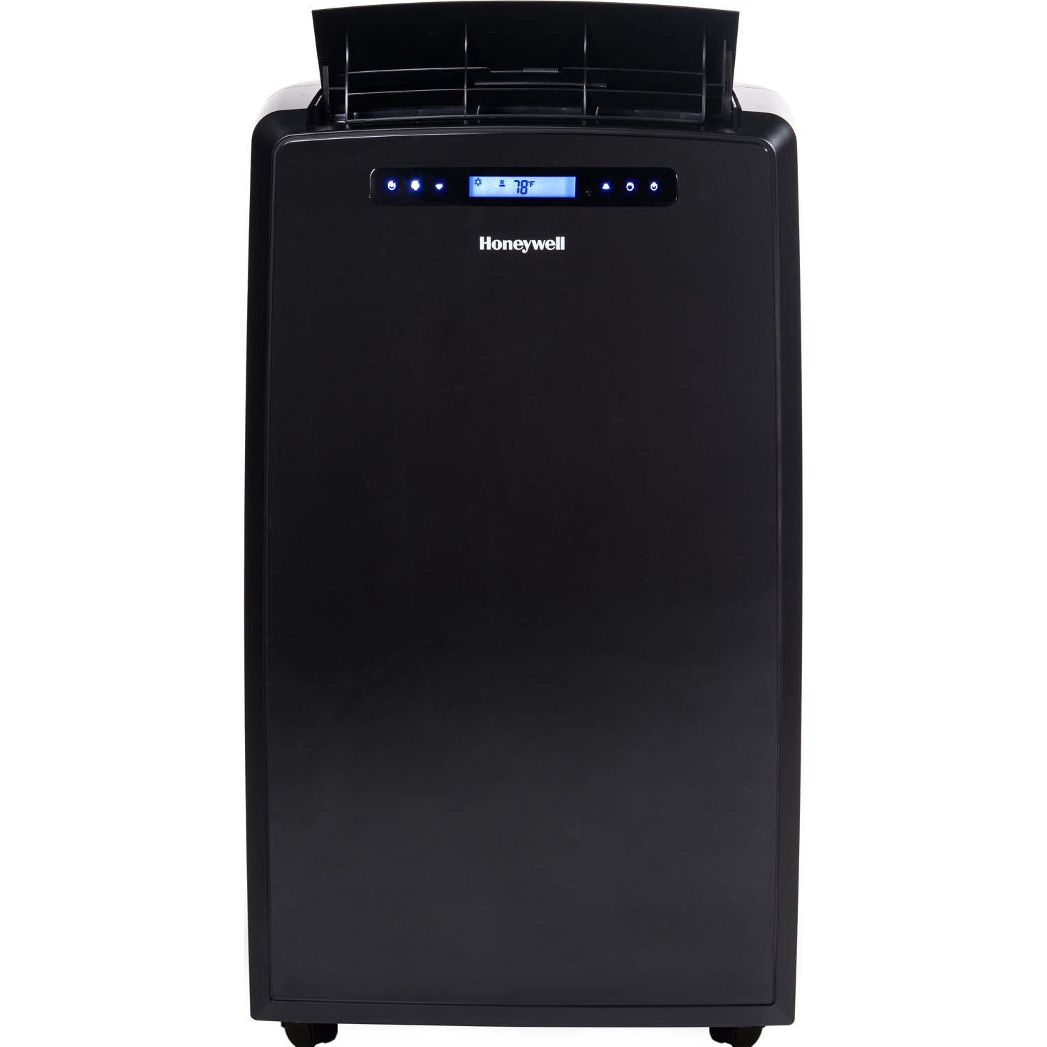 Honeywell MM14CCSBB 14000 BTU Portable AC, Dehumidifier, Fan for Rooms Up To 550-700 Sq. Ft. with Thermal Overload Protection, Washable Air Filter & Remote Control