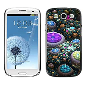 Exotic-Star ( Abstract Gems ) Fundas Cover Cubre Hard Case Cover para Samsung Galaxy S3 III / i9300 i717