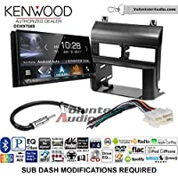 Volunteer Audio Kenwood DDX9704S Double Din Radio Install Kit with Apple Carplay Android Auto Fits 1988-1994 Blazer, Silverado, Suburban (No pocket)