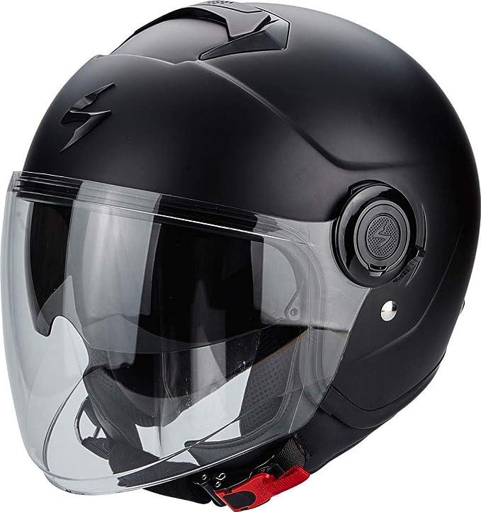 Scorpion Motorrad Helm Exo City Mattschwarz Größe L Auto