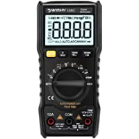 KKmoon Digital Multimeter, Full Protection Mini Multifunctional Handheld Meter with Flashlight Tools of Electrical Instruments and Apparatus