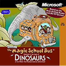 Microsoft Scholastic's The Magic School Bus Explores in the Age of Dinosaurs (Jewel Case) Ages 6-10