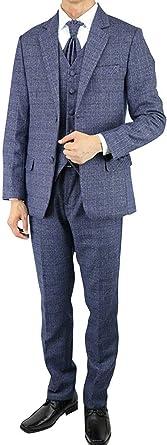 Wonder Stage Mens Slim Fit 4 Pc Wine-red Tuxedo Suit Jacket Pants Vest Ascot Tie