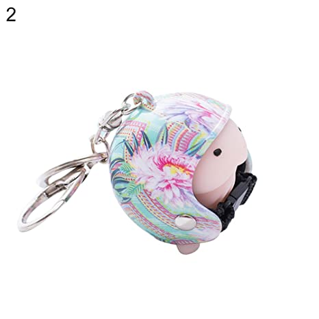 Amazon.com: Llavero CqmzpdiC, juguete para apretar, casco de ...