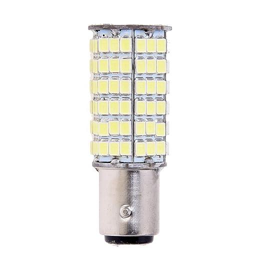 2 opinioni per TOOGOO(R) LAMPADA LUCE STOP 120 LED SMD 1157 1016 P21/5W BIANCO