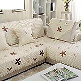 HDVHXVHJWCXHXF Four Seasons Slip Sofa Towel/Simple and Modern Sofa Cushions/Fabric Seat Cushion/Fashion,European Style,Summer,Wood Sofa Towel-D 70x120cm(28x47inch)