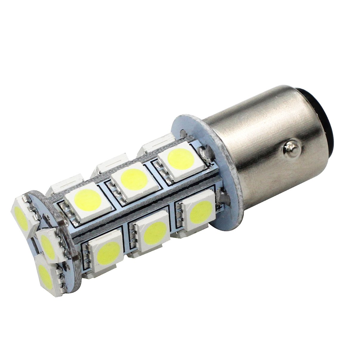 Yolu 2pcs 1157 18SMD S25 BAY15D Red Super bright Strobe LED lights Brake Lights Flashing 1154 1157 2057 2357 3497 7528