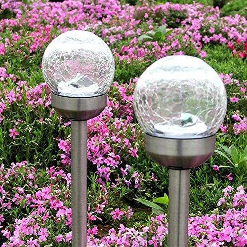 L'énergie Jardin Solaire Fonctionne Pcs 4 À LumièreExtérieur Kobwa 5RAjL4