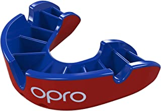 Opro Silver Level Adult Self-Fit Mouthguard (GEN4) - Red/Blue