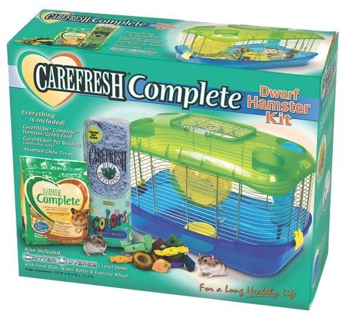 Ware Manufacturing Critter Universe Carefresh Dwarf Hamster Cage Kit by Ware