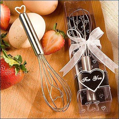 Heart Design Wire - Heart Design Wire Wisk Favors, 30