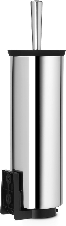 Brabantia 427169 Porte-Goupillon avec Brosse Brilliant Steel